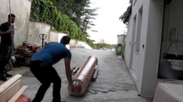 Imperial Potato Cannon in Italy