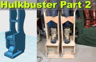 XRobots – Iron Man HULKBUSTER Cosplay Part 2 – Building Stilts for my Giant Suit!