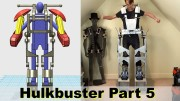 XRobots – Iron Man HULKBUSTER Cosplay Part 5 – Mechanical latches for the frame