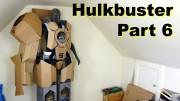 XRobots – Iron Man HULKBUSTER Cosplay Part 6 – Mocking up the shells in cardboard!