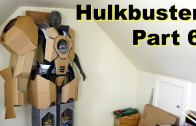 XRobots – Iron Man HULKBUSTER Cosplay Part 6 – Mocking up the shells in cardboard!