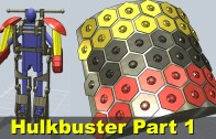 XRobots – Iron Man HULKBUSTER Part 1 – My Next Iron Man Suit Project!