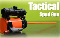 """How To Make a """"Tactical"""" spud gun ( powerful )"""