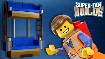 Lego Double Decker Couch (the Lego Movie) – Super Fan Builds