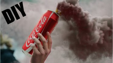 Smoke Grenade Cooking CocaCola • Amazing DIY