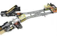 Lego Railway system: Passing module, double crossover type